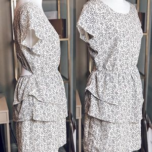 Anthropologie Dress with Cutout Back